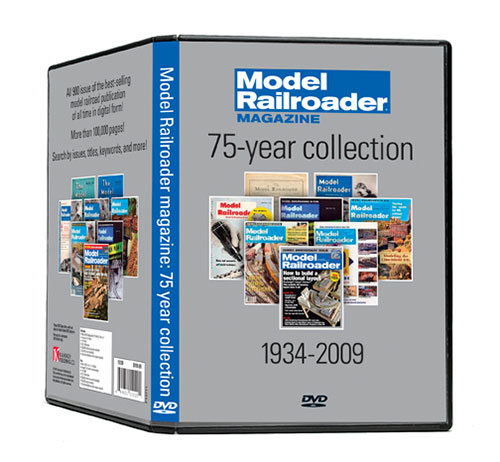 Model railroader magazine 75-year collection on dvd-rom